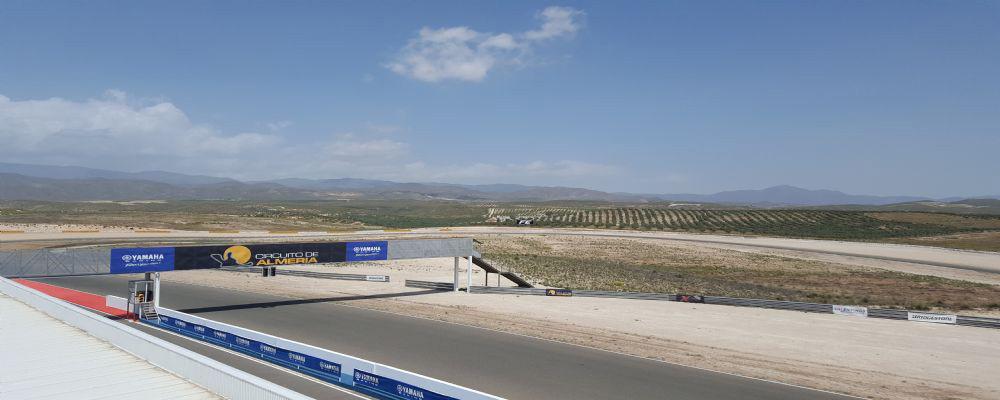Rennstrekentraining Motorrad Almeria