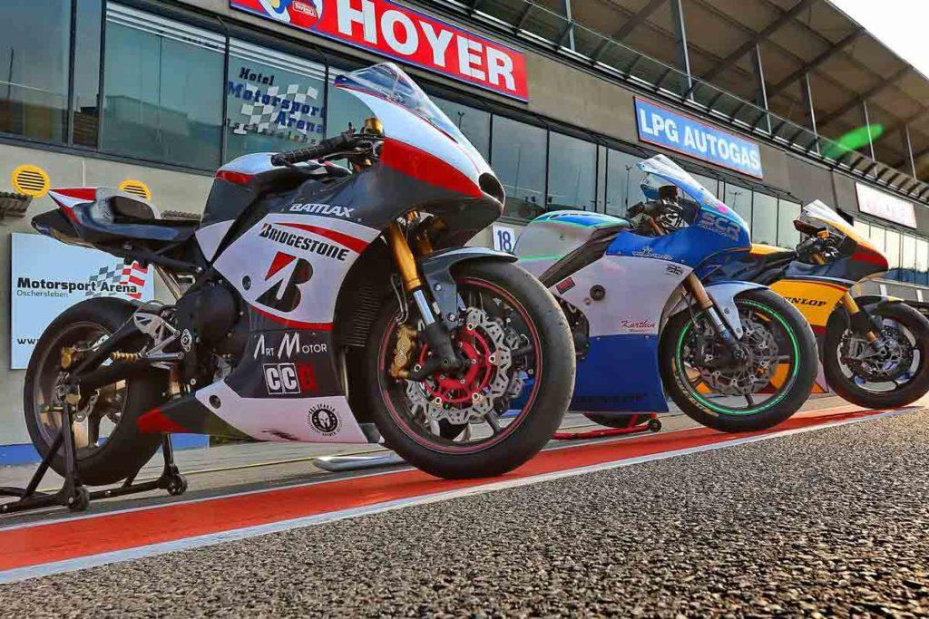 Triumph 675 Moto2-Style