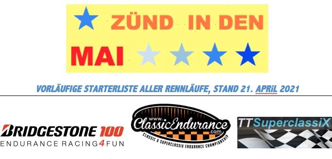 Erste Starterliste für Racing-Saisonauftakt