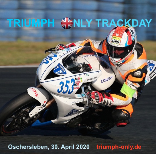 Erster Triumph Track Day