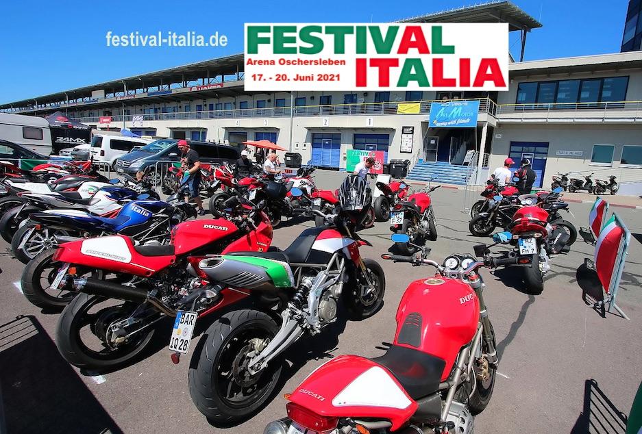 ITALO-TREFF BEIM FESTIVAL